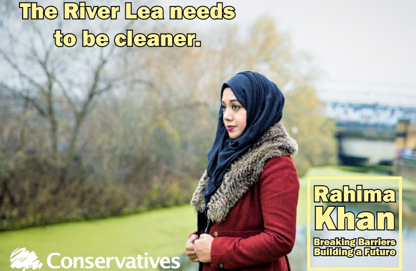 Rahima Khan by the River Lea