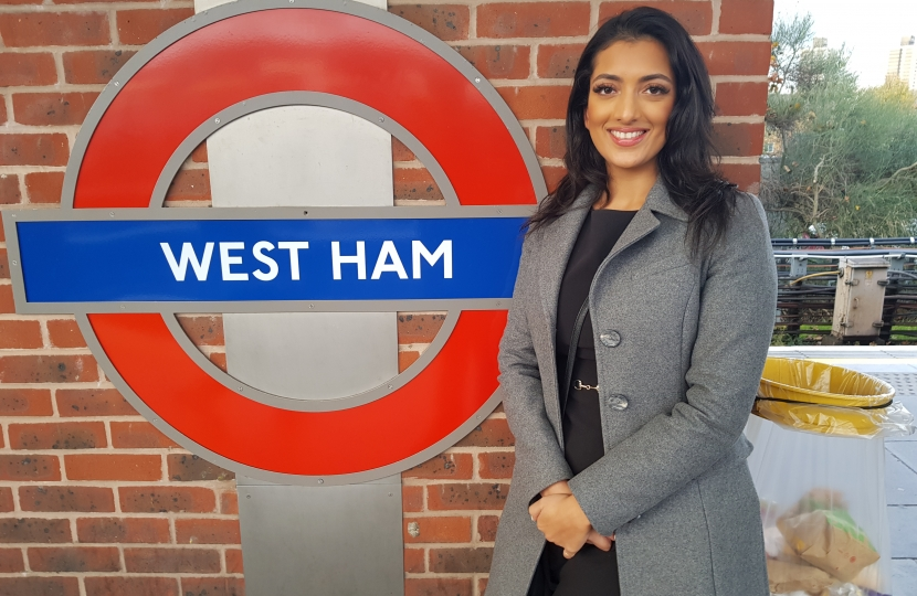 Sara Kumar at West Ham